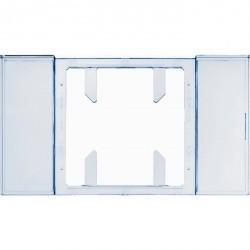 Поле для надписи для 1-, 2- и 3-канальных клавишных сенсоров B.IQ поверхность: бесцветная, прозрачна