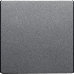 Заглушка Berker, алюминий бархатный, 75940224
