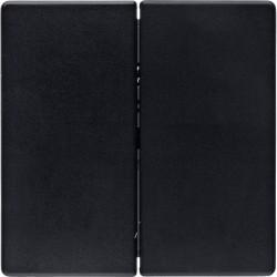 Клавиша двойная Berker BERKER. NET, черный бархат, 85146126