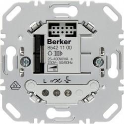 Механизм клавишного светорегулятора-переключателя Berker BERKER. NET, 400 Вт, 85421100