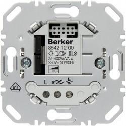 Механизм клавишного светорегулятора-переключателя Berker BERKER. NET, 400 Вт, 85421200