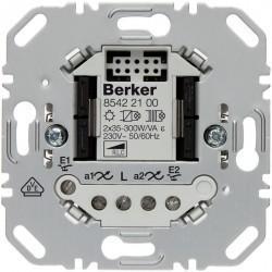 Механизм клавишного светорегулятора-переключателя Berker BERKER. NET, 300 Вт, 85422100
