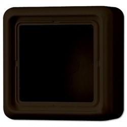 CD500 Коробка 1-ная для накладного монтажа, коричневая