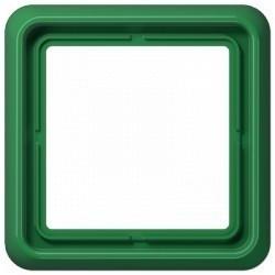 Рамка 1 пост Jung CD 500, зеленый, CD581GN