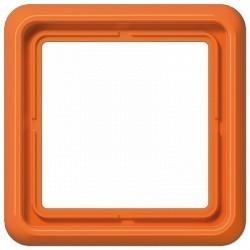 Рамка 1 пост Jung CD 500, оранжевый, CD581O