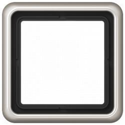 Рамка 1 пост Jung CD 500, платина, CD581PT
