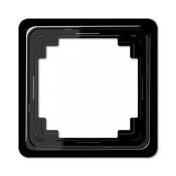 Рамка 1 пост Jung CD 500, черный, CDP581SW