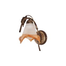 Бра BENETTI Classic Fiorita бронза 1xE27 CLS-410-4090-01/B