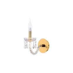 Бра BENETTI Crystal Limpido золото 1xE14 CRL-001-2101-01/B