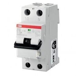 Дифавтомат ABB DS200 1P+N 10А (B) 6кА 300мА (AC), 2CSR255040R3105