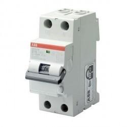 Дифавтомат ABB DSN200 2P 16А (B) 6кА 300мА (A), 2CSR275140R3165