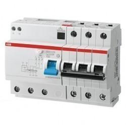 Дифавтомат ABB DS200 3P 10А (B) 10кА 30мА (AC), 2CSR273001R1105