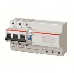 Дифавтомат ABB DS800 3P 125А (D) 50кА 30мА (A AP-R), 2CCB863004R0841