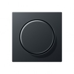 Накладка на светорегулятор Jung ECO PROFI, антрацит, EP1540BFAN