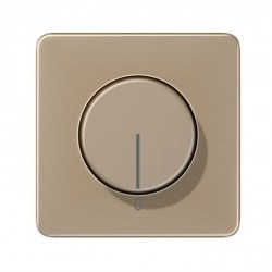 Накладка на светорегулятор Jung ECO PROFI, антрацит, EP1540BFEXAN