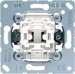 Выключатель 1-клавишный кнопочный Jung ECO PROFI, скрытый монтаж, EP431U