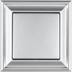 Рамка 1 пост Jung ECO PROFI, алюминий, EPD481AL