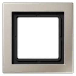 Рамка 1 пост Jung LS DESIGN, нержавеющая сталь, ESD2981