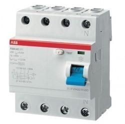 УЗО ABB F200AP-R 4P 63А 30мА (A), 2CSF204401R1630