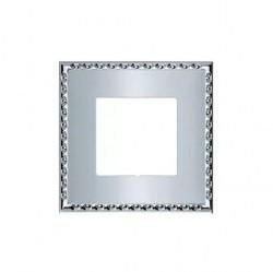Рамка 1 пост Fede TOLEDO, bright chrome, FD01211CB