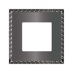 Рамка 1 пост Fede TOLEDO, graphite, FD01211GR