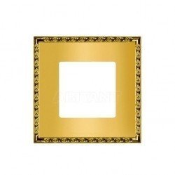 Рамка 1 пост Fede TOLEDO, real gold, FD01211OR