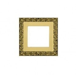 Рамка 1 пост Fede SAN SEBASTIAN, bright gold, FD01221OB
