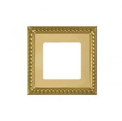 Рамка 1 пост Fede SEVILLA, bright gold, FD01231OB