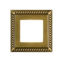 Рамка 1 пост Fede SEVILLA, bright patina, FD01231PB