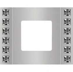 Рамка 1 пост Fede CRYSTAL DE LUXE, bright chrome, FD01281CB