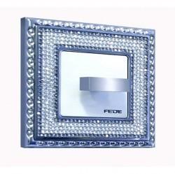 Рамка 1 пост Fede CRYSTAL DE LUXE, bright chrome, FD01291CB