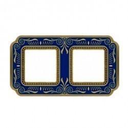 Рамка 2 поста Fede SMALTO ITALIANO, blue sapphire, FD01362AZEN