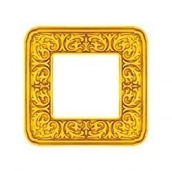 Рамка 1 пост Fede EMPORIO, bright gold, FD01371OB
