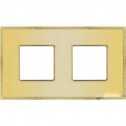 Рамка 2 поста Fede BELLE EPOQUE, bright gold, FD01402OB