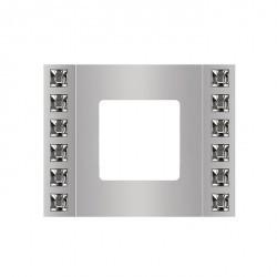 Рамка 1 пост Fede GRANADA, bright chrome, FD01411CB