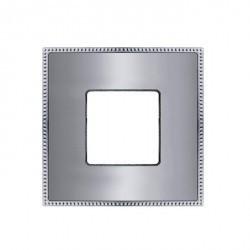 Рамка 1 пост Fede BELLE EPOQUE, черный/bright gold, FD01431BKOB