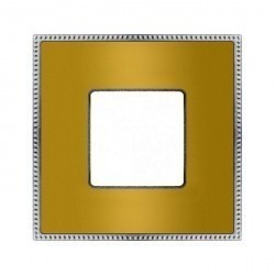 Рамка 1 пост Fede BELLE EPOQUE, bright gold/bright chrome, FD01431OBCB