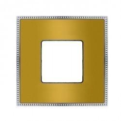 Рамка 1 пост Fede BELLE EPOQUE, bright gold, FD01431OBOB