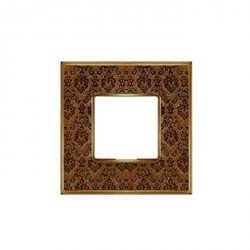 Рамка 1 пост Fede BELLE EPOQUE, decorbrass/bright gold, FD01441DBOB