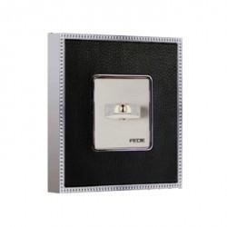 Рамка 1 пост Fede BELLE EPOQUE, monalisa/bright chrome, FD01441MCB