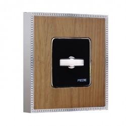 Рамка 1 пост Fede BELLE EPOQUE, oak/bright chrome, FD01451OCB