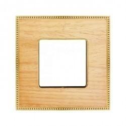 Рамка 1 пост Fede BELLE EPOQUE, oak/bright gold, FD01451OOB