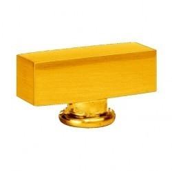 Fede Поворотная ручка квадратного типа, Bright Gold