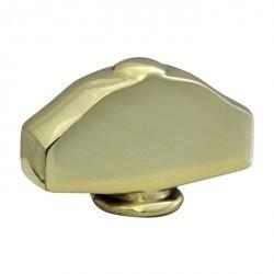 Fede Поворотная ручка овального типа с кнопкой, Rustic Cooper
