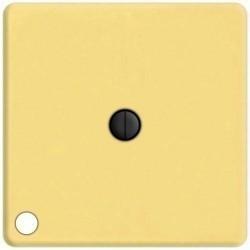 Выключатель поворотный Fede Коллекции FEDE, с подсветкой, bright gold, FD03111-OB