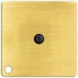 Выключатель поворотный Fede Коллекции FEDE, с подсветкой, bright patina, FD03111-PB