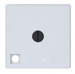 Выключатель поворотный Fede Коллекции FEDE, с подсветкой, белый, FD03111