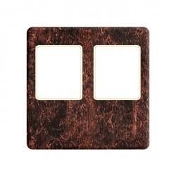 Накладка на мультимедийную розетку Fede, rustic cooper/бежевый, FD04318RU-A