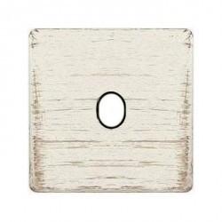 Накладка на тумблер Fede, white decape/черный, FD04320BD-M