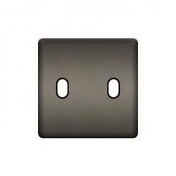 Накладка на тумблер Fede, graphite/черный, FD04321GR-M